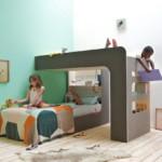 gyerek emeletes ágy - fiú és lány szoba