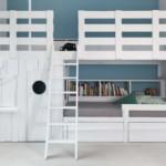 gyerek emeletes ágy - emelet