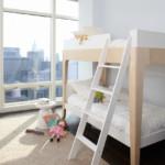 gyerek emeletes ágy - minimál