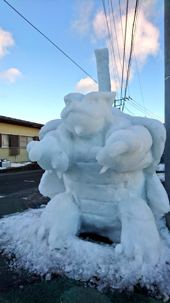 hófigura - hóember boser