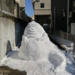 hófigura - hóember jabba