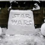 hófigura - hóember star wars