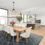 Jennifer Lopez Penthouse lakás - konyha étkező