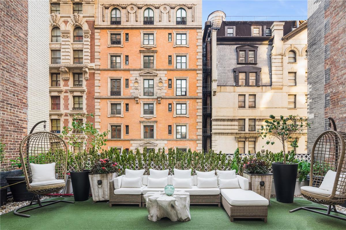 Jennifer Lopez Penthouse lakás - terasz