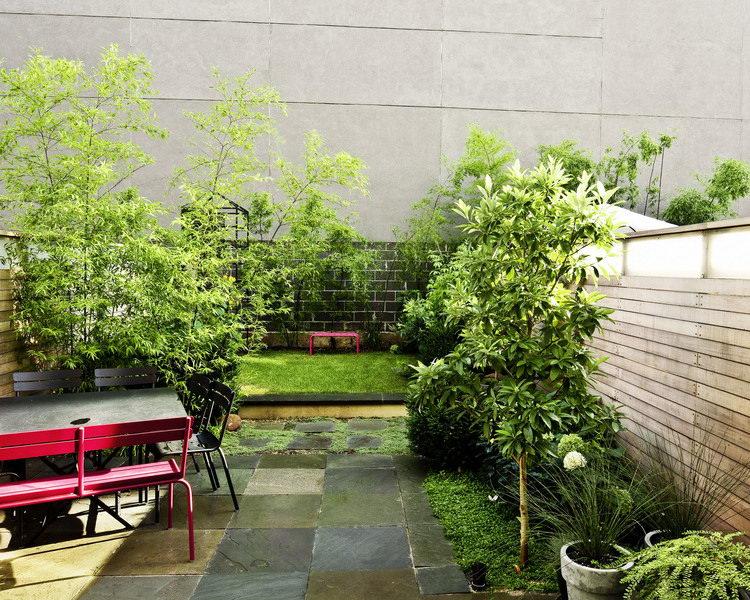 kerti lépcső többszintű terasz és kert - lugas