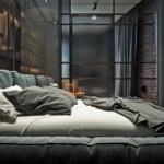 kis loft lakás hálószoba