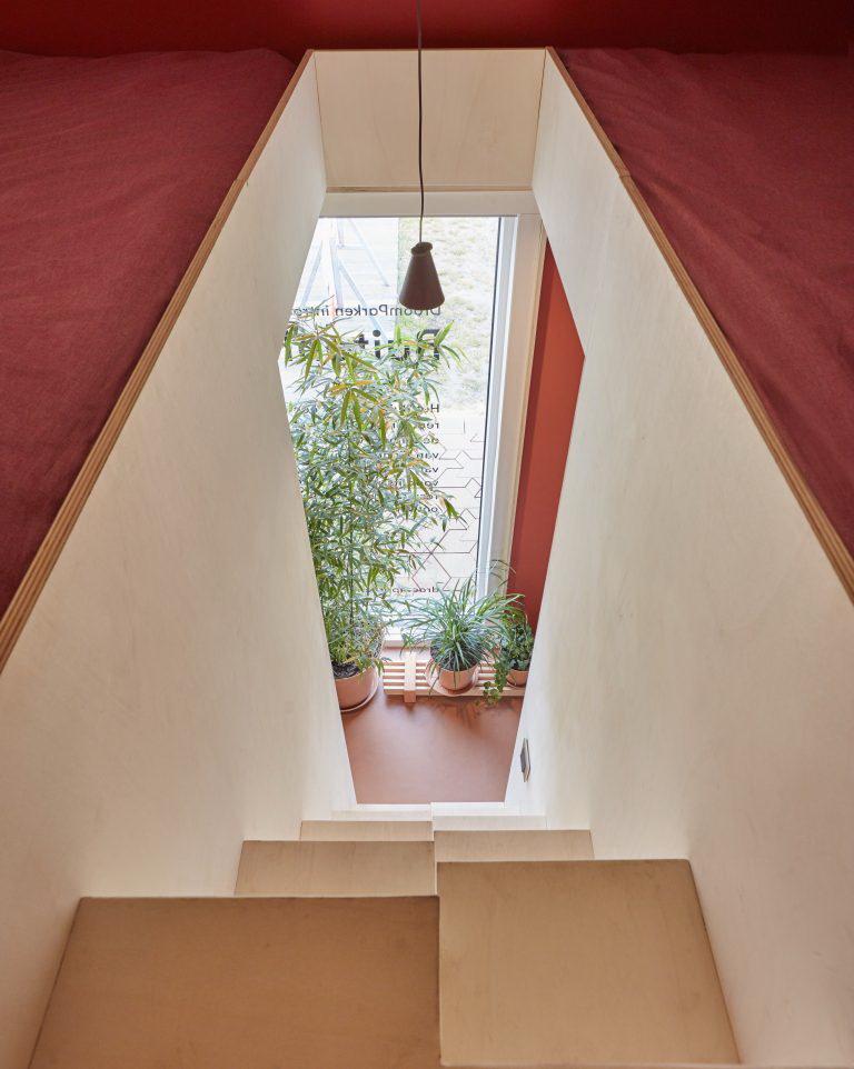 kis nyaraló - lépcső