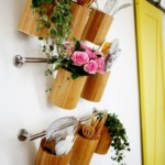 kis konyha tároló ötlet, tipp - függőleges tároló