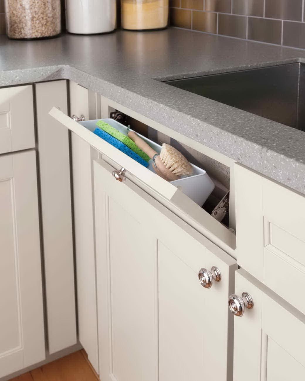 kis konyha ötlet, tipp - mosogató szekrény