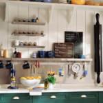 kis konyha tároló ötlet, tipp - tálaló eszközök