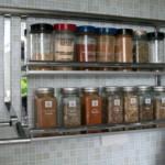 kis konyha ötlet, tipp - fűszer doboz üveg