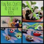 kreatív gyerek ötletek - édes kis bogarak