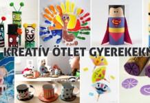 kreatív ötlet gyerekeknek
