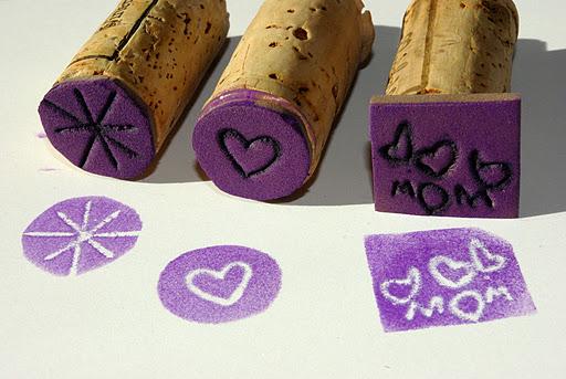 kreatív gyerek ötletek -bélyegző