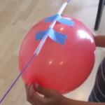 kreatív gyerek ötletek - lufi, ballon rakéta