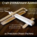 kreatív gyerek ötletek - pálcika repülő