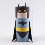 kreatív gyerek ötletek - karton szuperhős batman