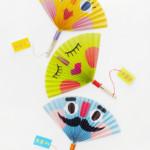 kreatív gyerek ötletek - legyező