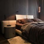 luxus lakás sárga réz - vendégszoba