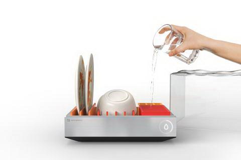 mini mosogatógép - 12 pohár