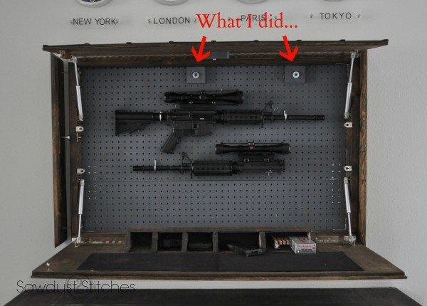 rejtekhely - titkos rekesz - dupla tükör rejtett tároló