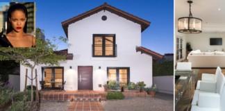 Rihanna villa, ház