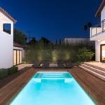 Rihanna villa, ház - medence