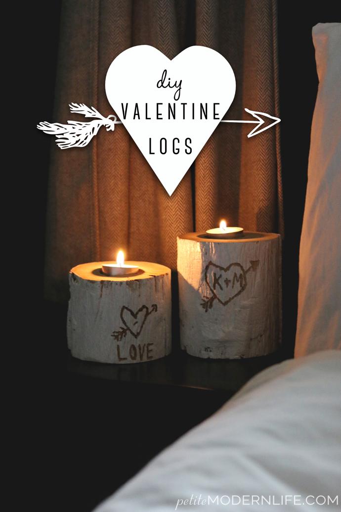 Valentin napi ötlet - szerelem gyertyatartó