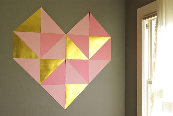 Valentin napi ötlet - óriás szív