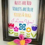 Valentin napi ötlet - nyomtatott szerelmes üzenet