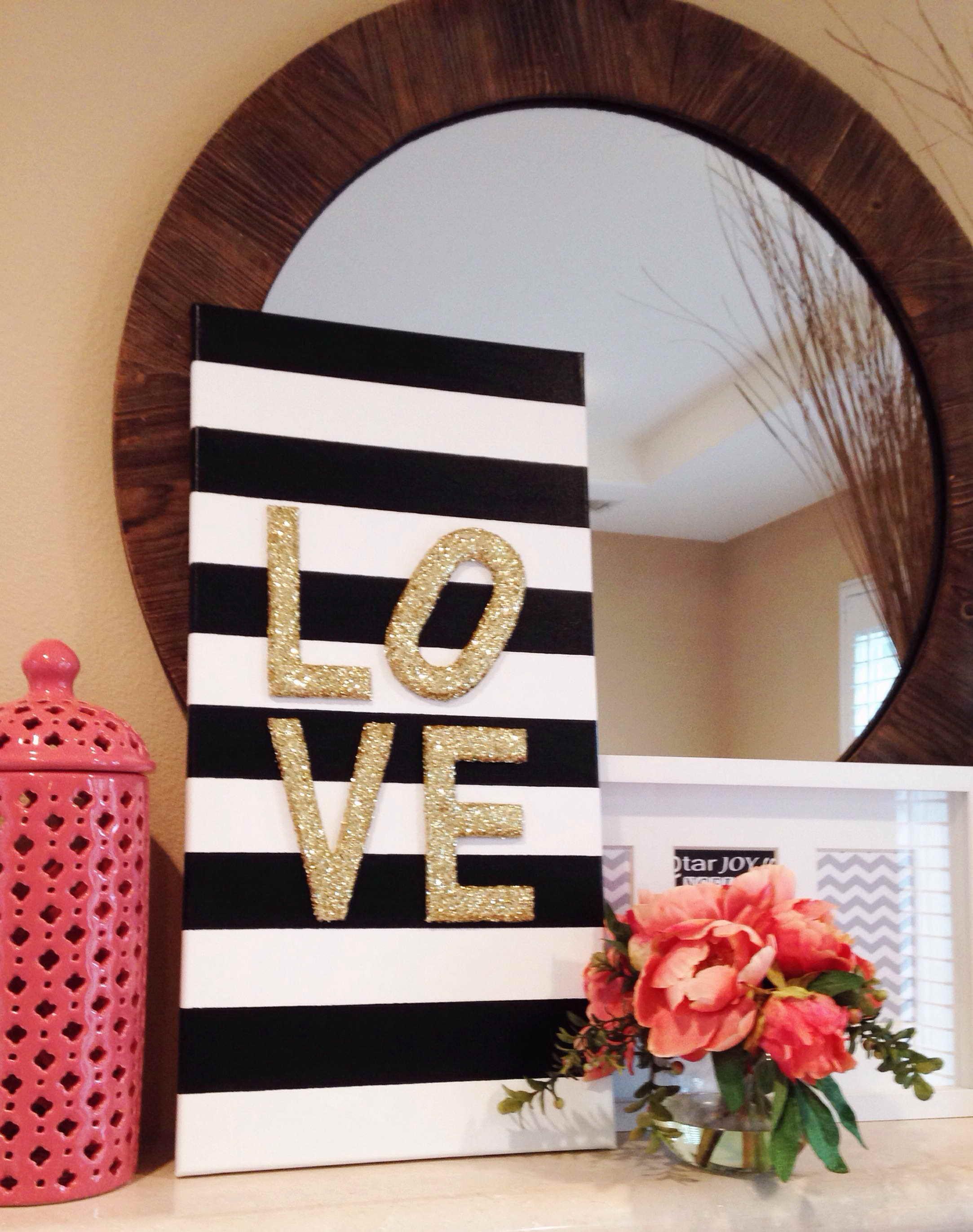 Valentin napi ötlet - minimál szerelmes üzenet