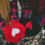 Valentin napi ötlet - kesztyű pár