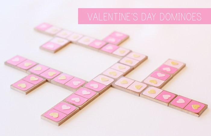 Valentin napi ötlet - szerelem dominó