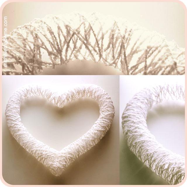 Valentin napi ötlet - szív koszorú