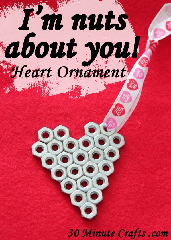 Valentin napi ötlet - csavaros szív ötlet
