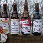 Valentin napi ötlet - Sörös üzenet