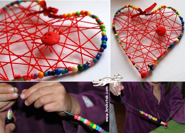 Valentin napi ötlet - drót szív