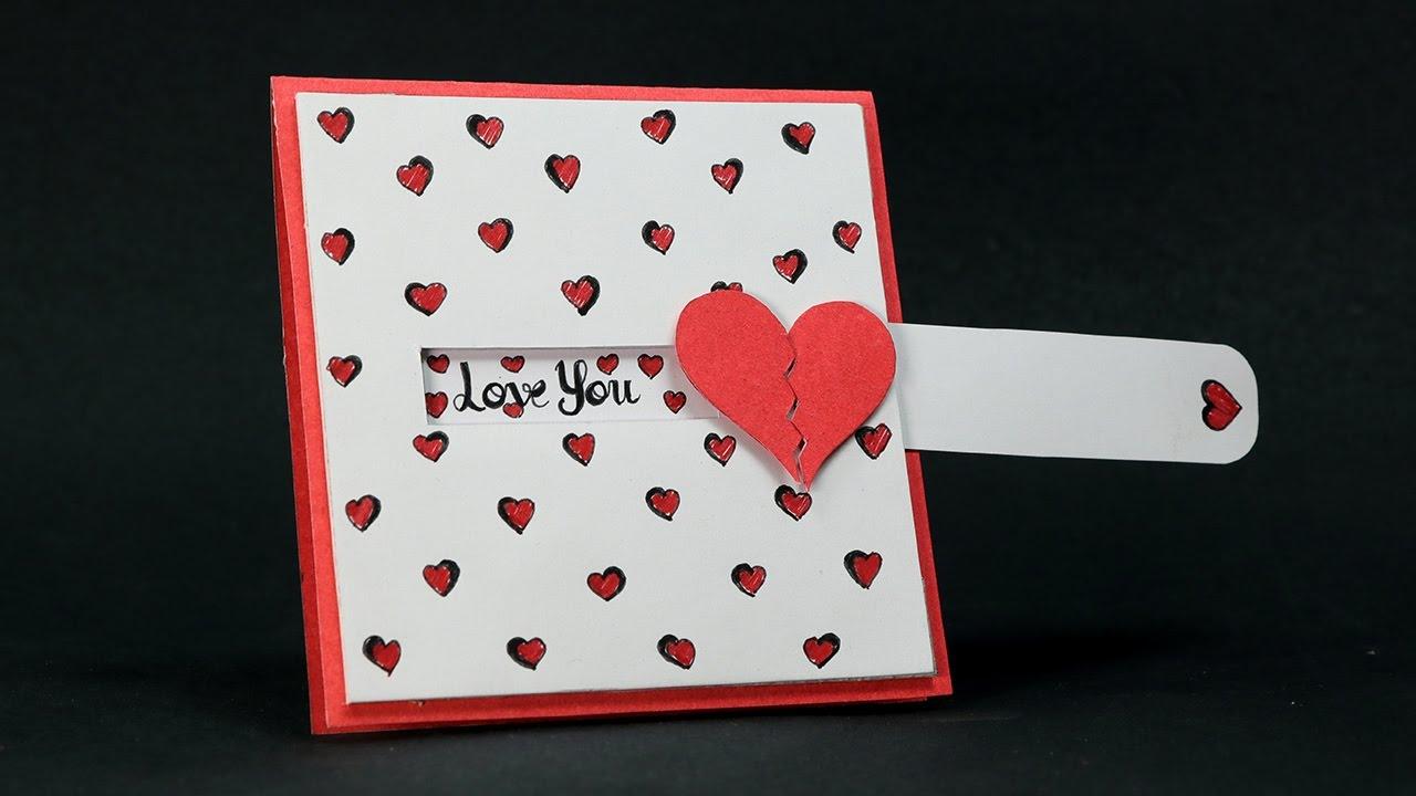 Valentin napi üdvözlő kártya - vallomás