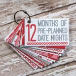 Valentin napi üdvözlő kártya - kulcstartó