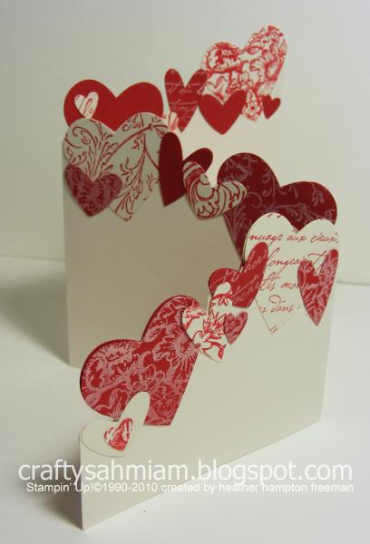 Valentin napi üdvözlő kártya - brossúra