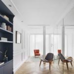 színes luxus lakás fehér közlekedő