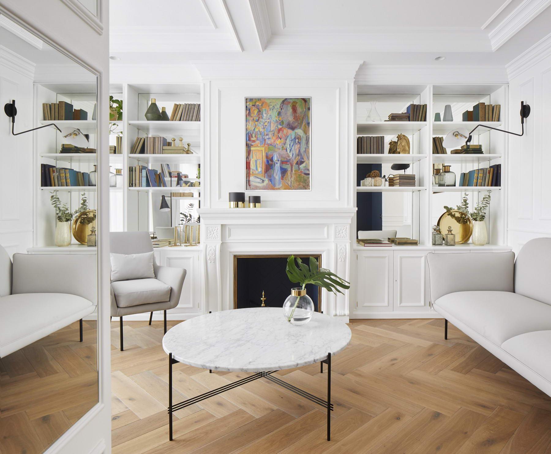 színes luxus lakás fehér romantikus nappali