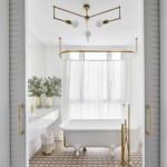 színes luxus lakás vendég fürdőszoba