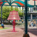 Óriás lámpák - lámpa - 1950 asztali lámpa