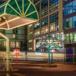 Óriás lámpák - lámpa - Manchester este