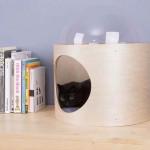 design macska ház - cica