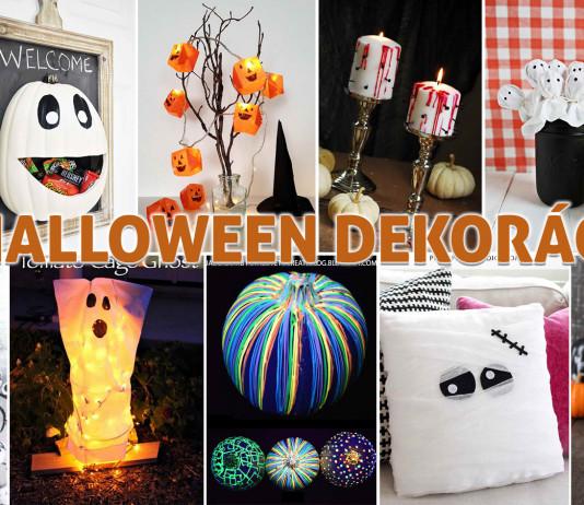 Halloween - dekoráció dísz díszítés