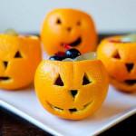 Halloween tök gyümölcs kosár