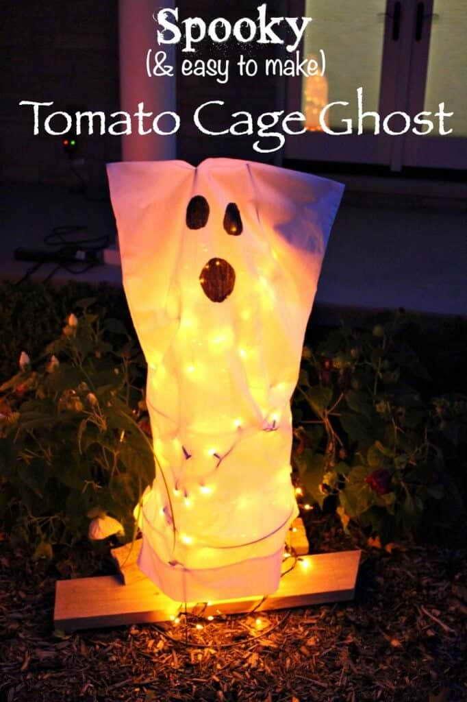 Kerti szellem Halloween dekoráció dísz