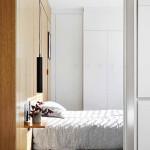 Rejtett dizájn trükkök mni lakás kis lakás - hálószoba